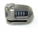 Resettable combination disc lock