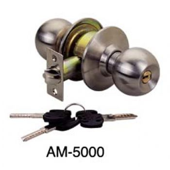 Light Type Cylindrical Door Lock