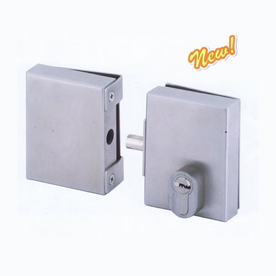 Center Glass Door Lock