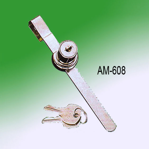 Cabinet glass sliding door lock