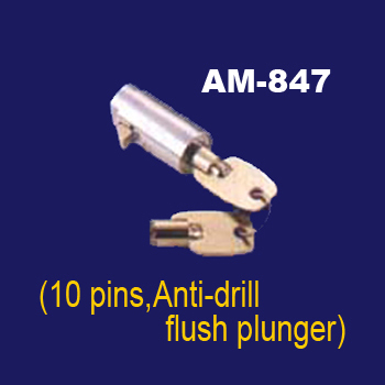 Anti-drill Flush Plunger