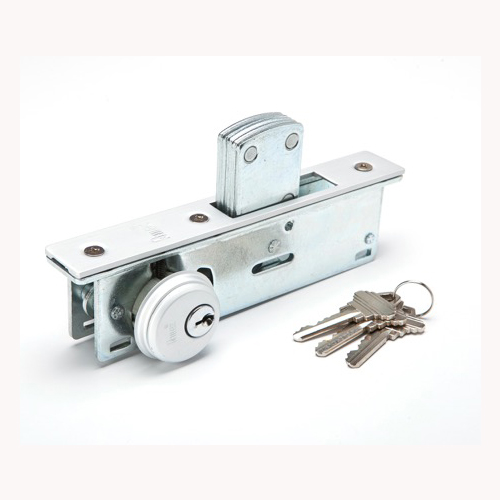 Mortise dead bolt lock
