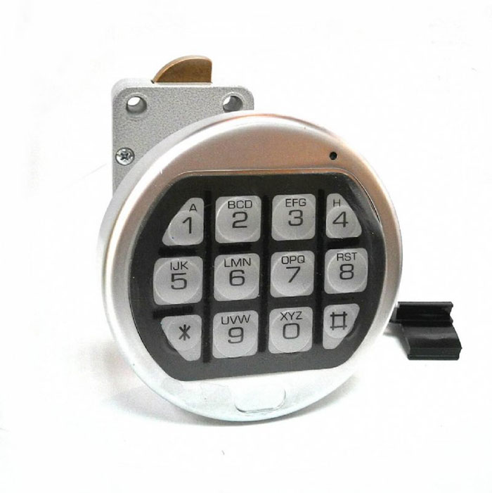 Electronic lock for safe box