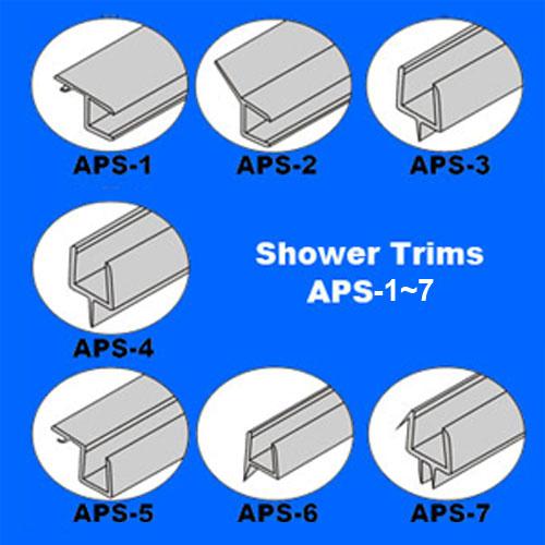 Shower trims